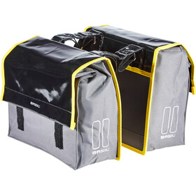 Basil Urban Load S Alforja Doble 25l, black/steel grey